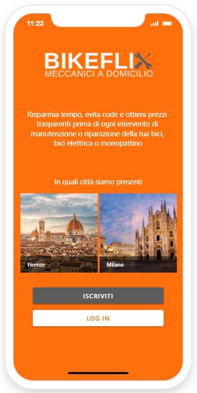 app Bikeflix Iphone