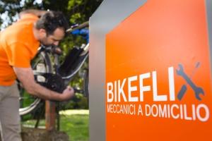 Meccanico bici per riparazione a domicilio