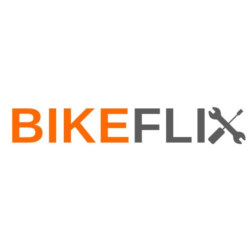 logo bikeflix bianco